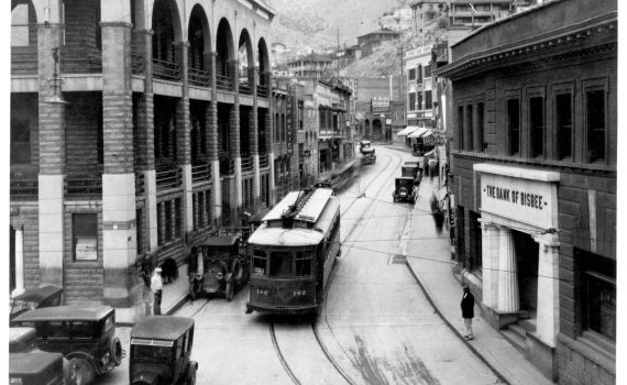 Bisbee's Main street in the early 1900s was a bustling place.
