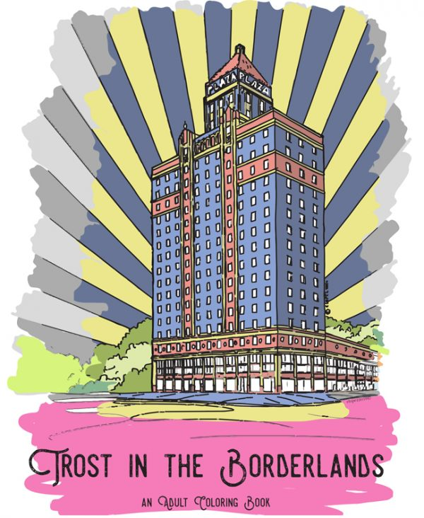 Trost in the Borderlands Coloring Book