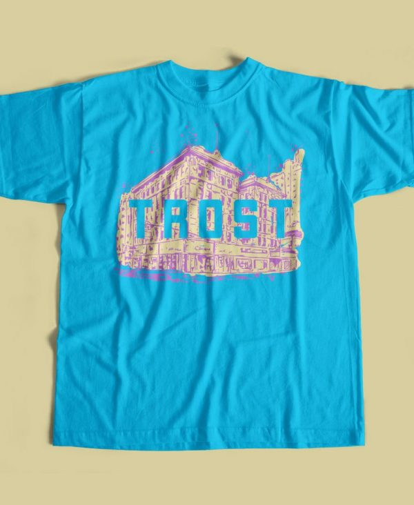 Texas Trost Society Banner Building T-shirt