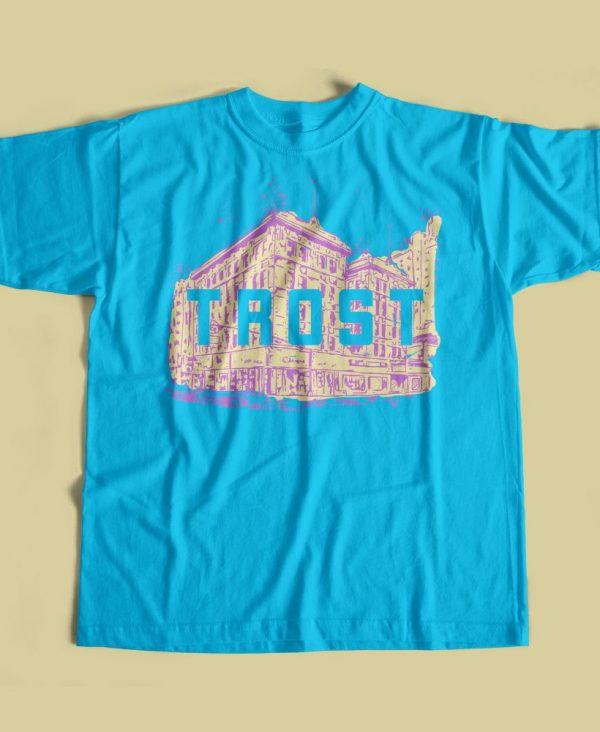Texas Trost Society Banner Building T-shirt