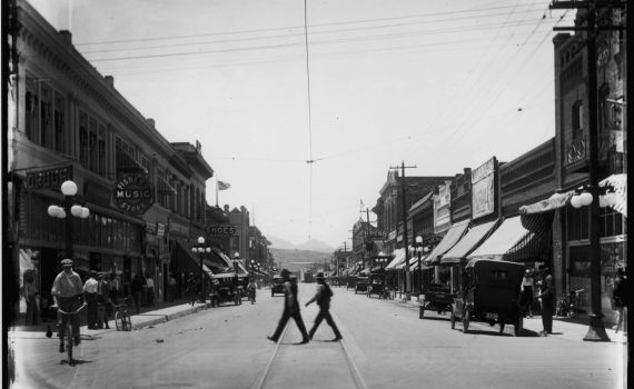 Congress Street in historic downtown Tucson